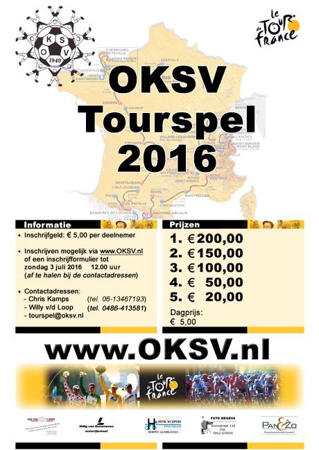 OKSV Tourspel 2016